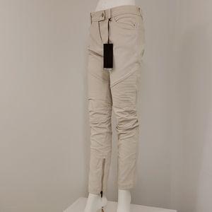 Ermanno Scervino Corduroy Skinny Ankle Jeans